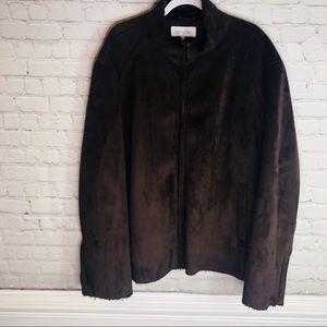 Calvin Klein   Men's Warm Faux Suede Jacket